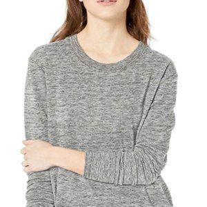Tops - Women's Terry Cotton and Modal Side-Vent Tunic